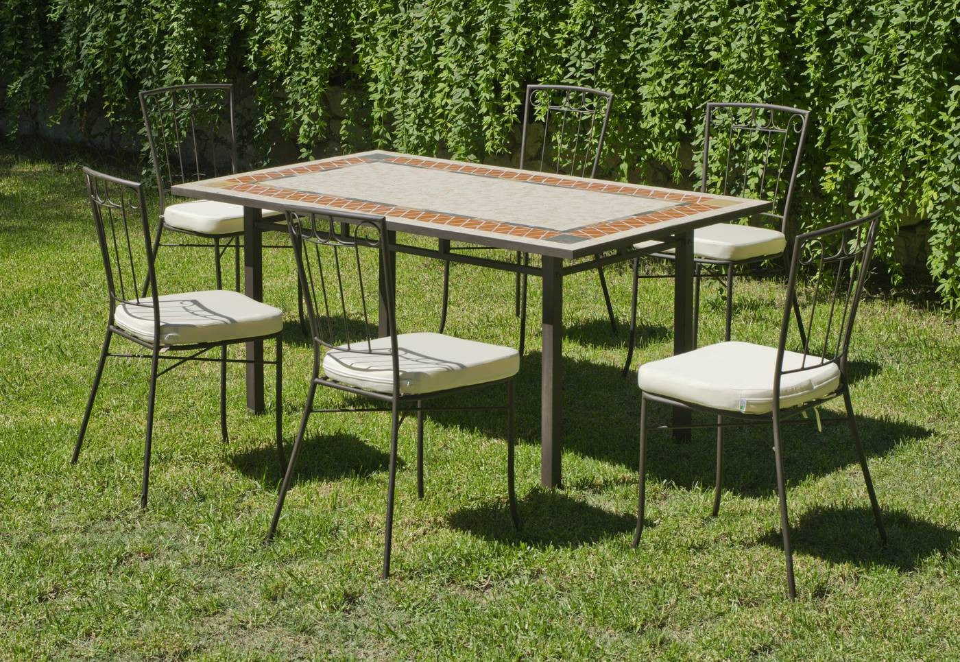 Conjuntos de Mesas y Sillas de Jardin Conjunto de Mesa Rectangular