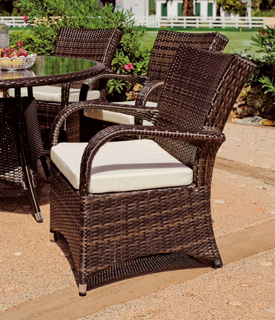 Conjuntos De Sofas Y Sillones De Jardin Rattan Sill N Comedor  # Muebles De Jardin Wicker