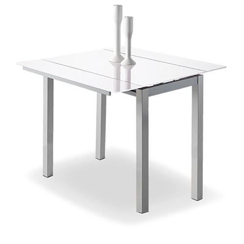 Mesas de Cocina : Mesa de Cocina extensible Modelo Leiria en blanco