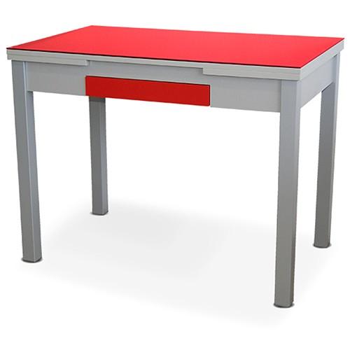 Mesa de cocina Roja Modelo Prisma