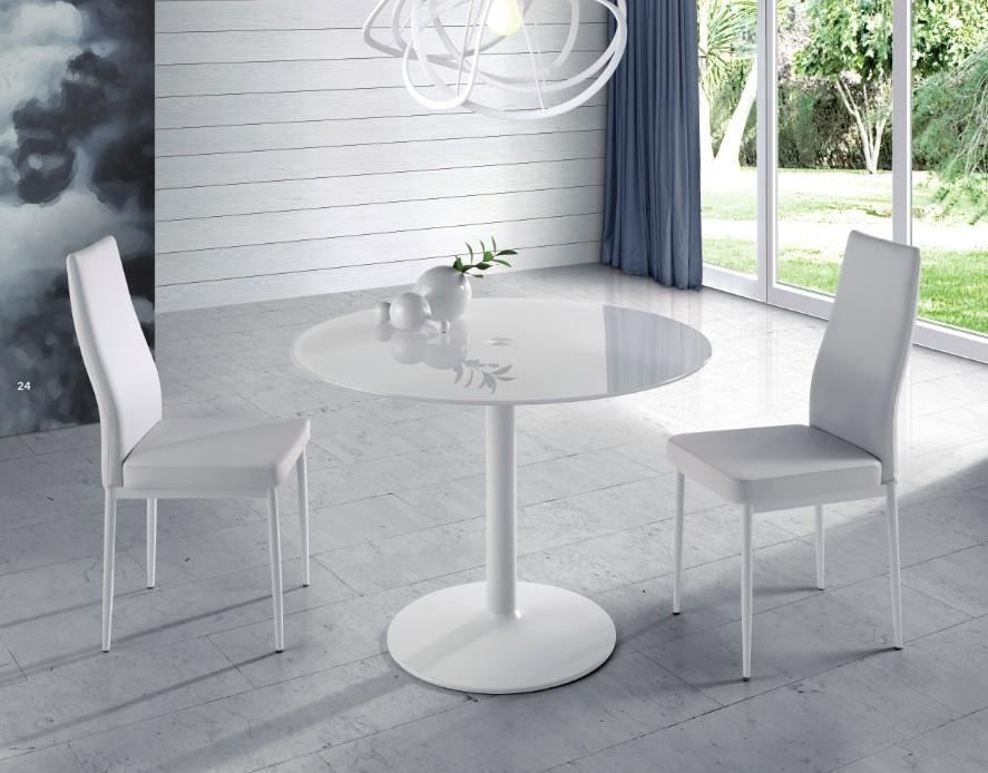 Mesa Comedor Blanca Modelo Circle