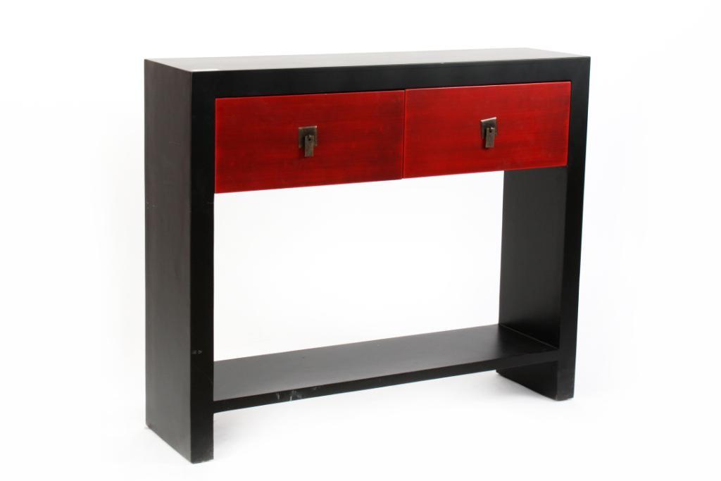 Muebles Orientales o Japoneses : Consola o recibidor de estilo ...