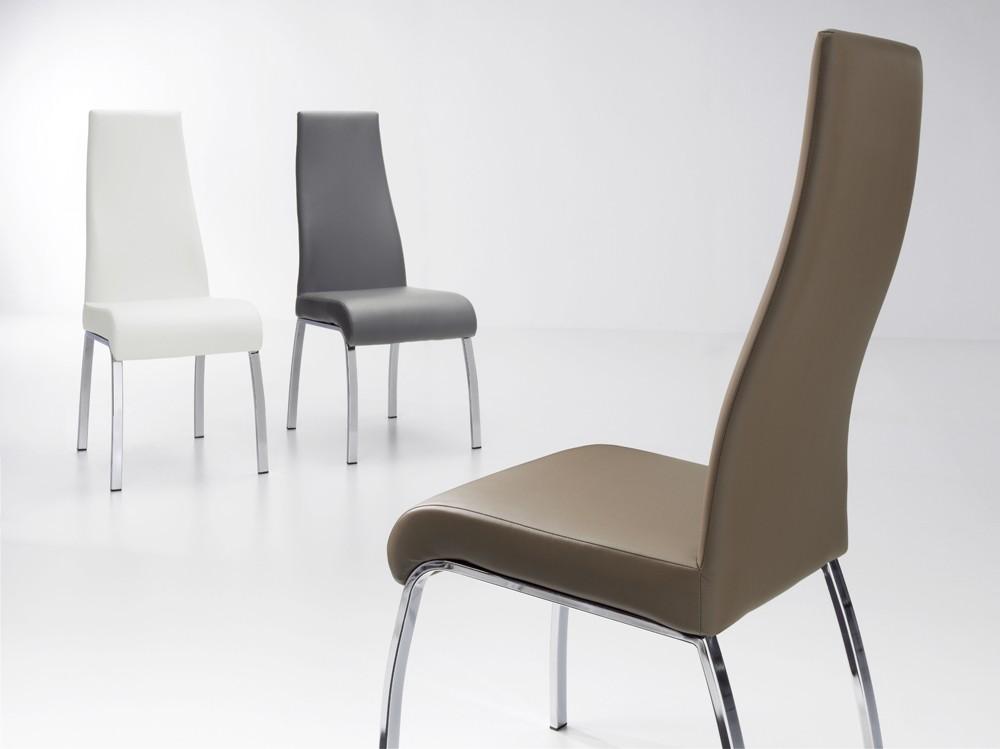 Sillas de comedor tapizadas silla de comedor modelo for Sillas comedor comodas