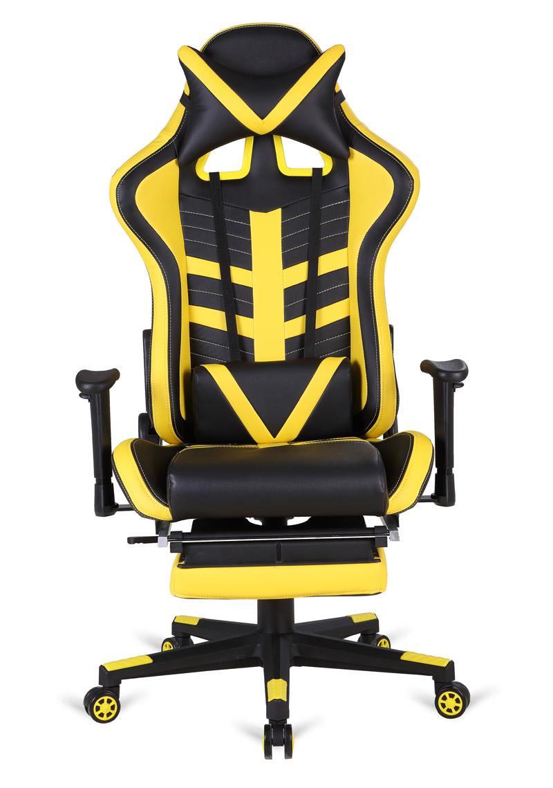 Amarilla Negra Silla Gaming Oficina Rick De Racing sQxdBtrhC