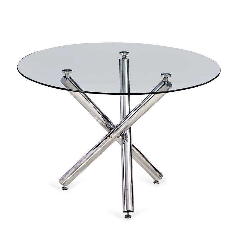Mesas de Comedor: Mesa redonda de cristal modelo Triana